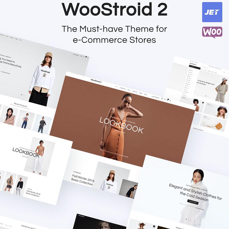 Woostroid2 - многоцелевой WooCommerce шаблон