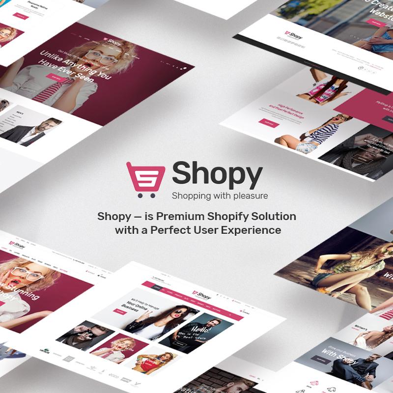 Shopy — Shopify шаблон модного магазина