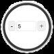 Кнопки плюс и минус при добавлении товаров — ShopCMS