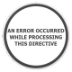 Решение проблемы — an error occurred while processing this directive